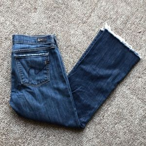 "Jeans ""Citizen for Humanity"" denim cropped"